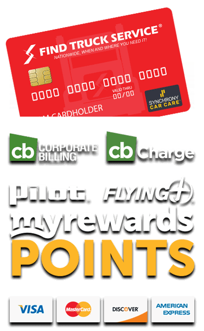 Find Truck Service and Pilot Flying J MyRewards